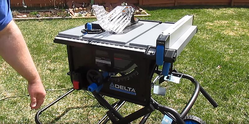 Review of Delta Power Tools 36-6020 Portable Table Saw