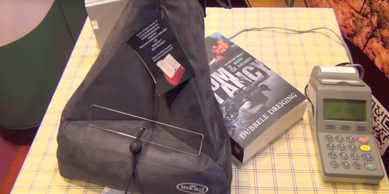 Review of The Book Seat BS01.Grey with Travel Pillow