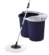 Twist and Shout Mop TNSM-T1 Hand Push Spin Mop, Life Time Warranty