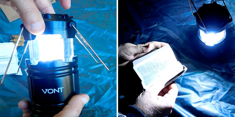 Review of Vont 4 Pack LED Camping Lantern