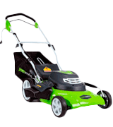 GreenWorks 25022 20-Inch 12 Amp Corded Lawn Mower