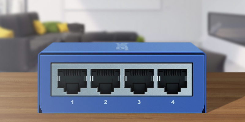 Review of Amcrest AMPS5E4P-AT-65 5-Port POE+ Switch