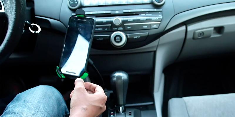 Review of EnergyPal Car Smartphone Holder with Dual USB