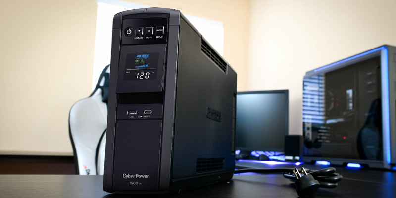 Review of Cyberpower CP1500PFCLCD 1500VA PFC Sinewave UPS System