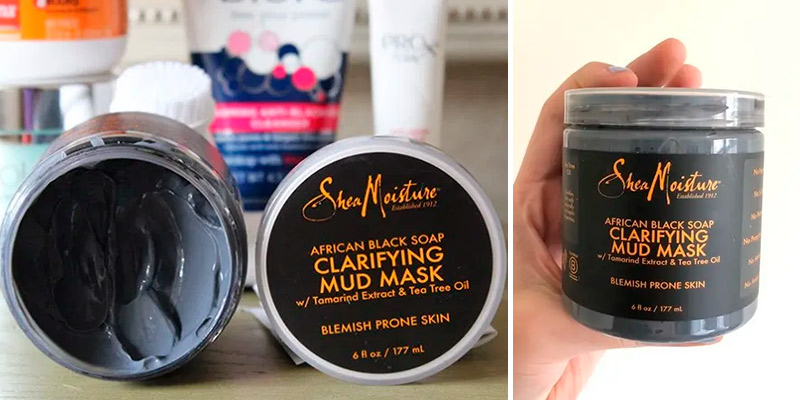 Review of Shea Moisture Clarifying for Oily Skin Face Mask