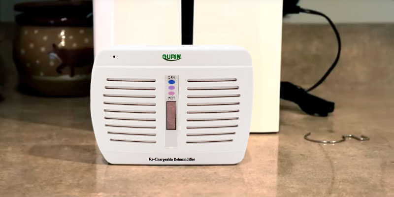 Review of Gurin DHMD-110 Rechargeable Dehumidifier