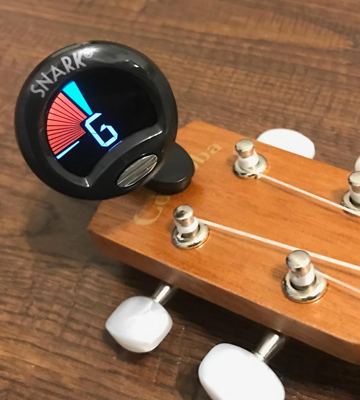 Review of Snark SN5X Clip-On Tuner for Guitar, Bass & Violin