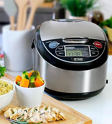 Review of Tiger JAX-T10U-K (Uncooked) Micom Rice Cooker with Food Steamer & Slow Cooker