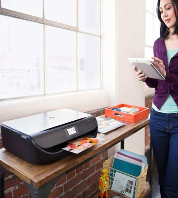Review of HP 4520 All-in-One Wireless Envy Color Photo Inkjet Printer
