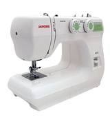 Janome 2212 Easy Turn Dial Pattern Selection