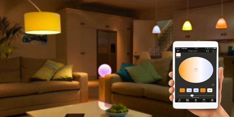 MagicLight Original Smart LED Light Bulb application