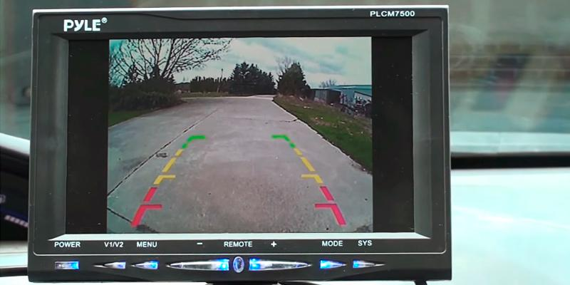 Review of Pyle PLCM7500 Car Vehicle Backup Camera