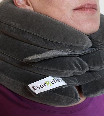 Review of EverRelief Inflatable Cervical Collar Improve Spine Alignment