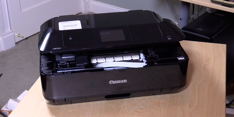 Detailed review of Canon MG7720 Wireless All-In-One Printer with Scanner and Copier