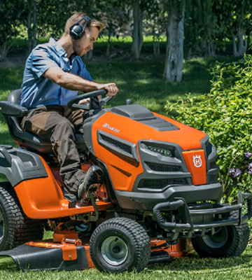 Review of Husqvarna TS348 24HP 48-Inch Lawn Tractor
