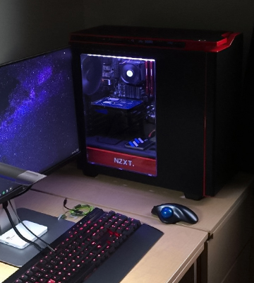Review of NZXT H440 Mid TowerComputer Case, Matt Black/Red/w Window