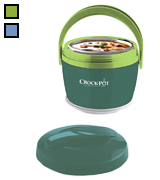 Crock-Pot SCCPLC200-EM-SHP Lunch Crock Food Warmer, 20 ounce, Green