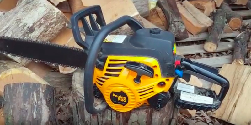 Review of Poulan Pro PP5020AV 20-Inch 2 Stroke Gas Powered Chain Saw