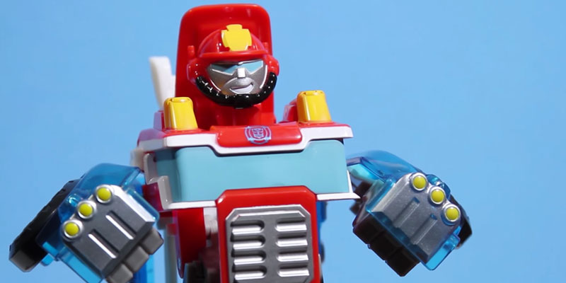 Review of Playskool Heroes Rescue Bots Transformers