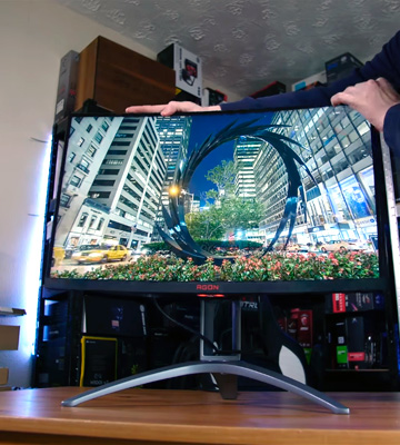 Review of AOC Agon AG273QCX 27 Inch Curved Gaming Monitor, 2K, FreeSync 2, HDR 400