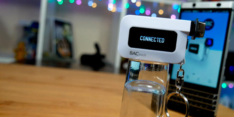 Review of BACtrack BT-C6 Keychain Breathalyzer