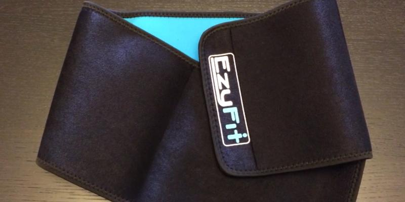 Review of EzyFit Back Posture Support Waist Trimmer