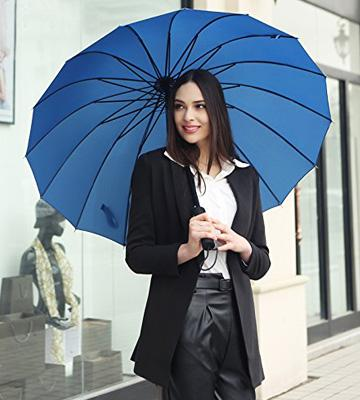 Review of Saiveina Auto Open Straight Umbrella