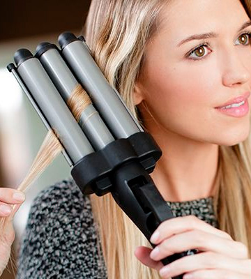 Review of Revlon Jumbo (RV084C) 3 Barrel Hair Waver