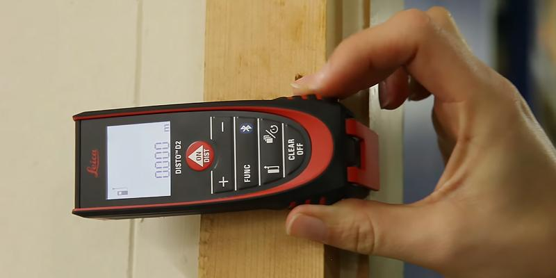 Leica Geosystems 838725 DISTO D2 Bluetooth Laser Measure in the use
