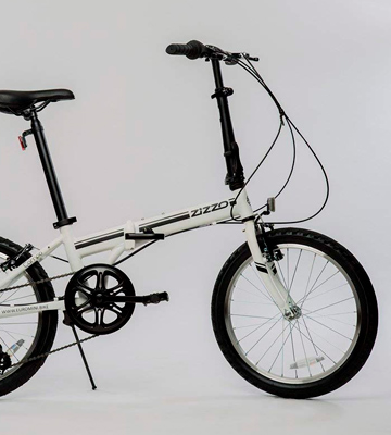 Review of EuroMini ZiZZO Campo Folding Bike