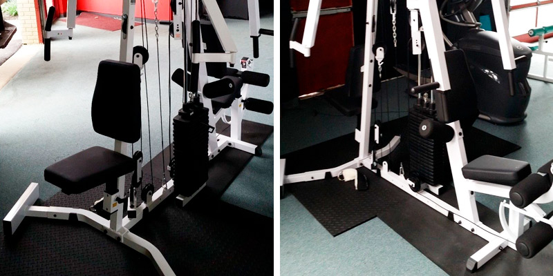 Body Solid EXM2500S Home Gym application