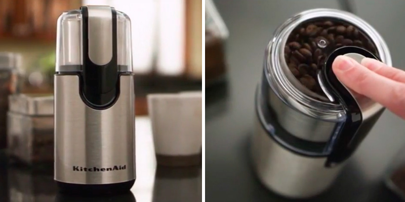 Review of KitchenAid BCG211OB Blade Coffee and Spice Grinder