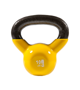 GoFit Vinyl Dipped Kettle Bell With Introductory Training DVD