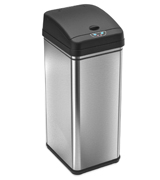 iTouchless DZT13/IT13CB Automatic Trash Can with Odor Control System