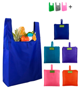 BeeGreen Set of 5 Reusable Grocery Bags