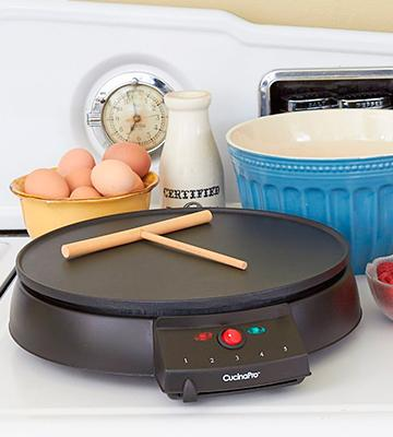 Review of CucinaPro Crepe Maker and Non-Stick 12 Griddle
