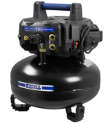 Excell U256PPE 6-Gallon 150 PSI Pancake Compressor
