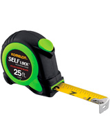 Komelon SL2825 Self Lock Measure Tape, 25 ft