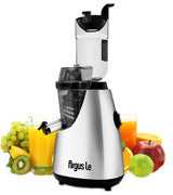 Argus Le AL-B6000 Masticating Juicer with 3 Big Mouth Whole