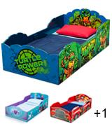 Delta Wood Ninja Turtles Toddler Bed