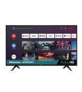 Hisense (40H5500F) 40-Inch 1080p Android Smart TV with Voice Remote (2020 Model)