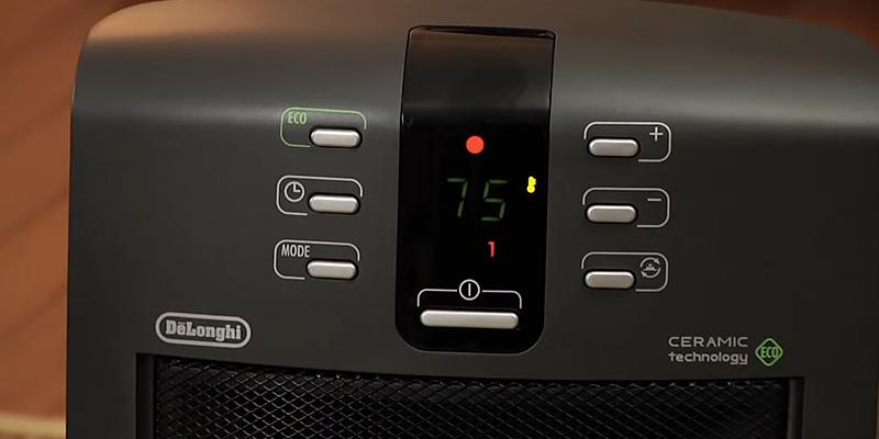 Review of Delonghi DCH5090ER Safe Heat Digital Ceramic Heater