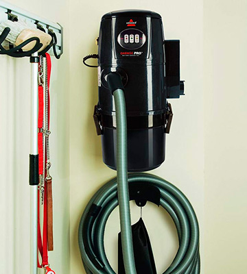 Review of Bissell 18P03 Garage Pro Wall-Mounted Wet Dry Car Vacuum/Blower