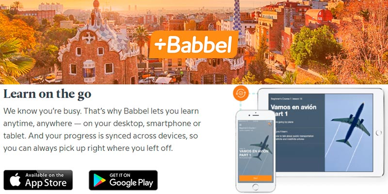 Detailed review of Babbel Learn Spanish Online The fun and easy way to learn