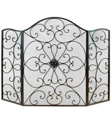 Deco 79 21626 Metal Fire Screen Ultimate