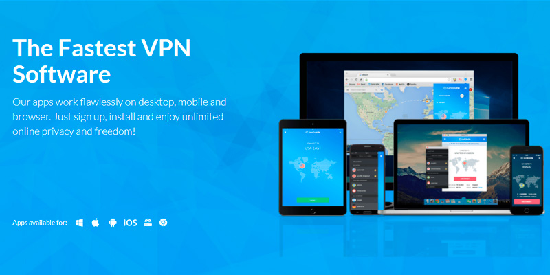 SaferVPN VPN in the use