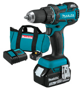 Makita XFD061 18V LXT Lithium-Ion Brushless Cordless 1/2 Driver-Drill Kit (3.0Ah)