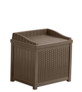 Suncast SSW1200 Resin Wicker Storage Seat