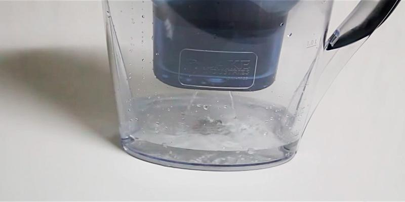 Lake Industries The Alkaline Water Pitcher in the use