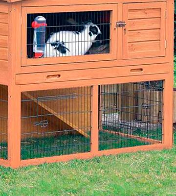 Review of Merax Rabbit Bunny Wood Hutch